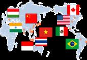 DEVELOPS GLOBAL PRODUCTION / SALES SYSTEM