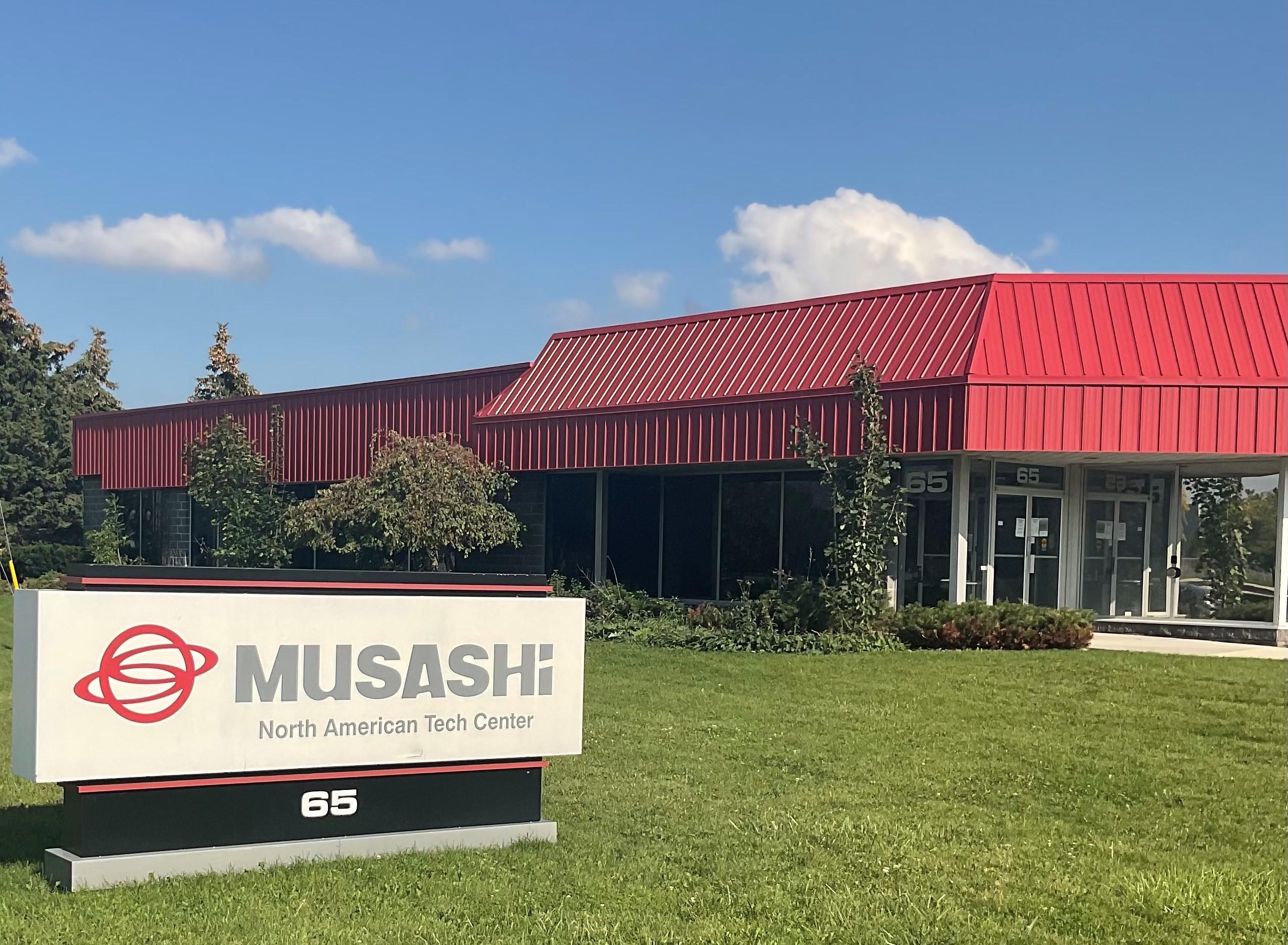 MUSASHI TECH CENTER OPENS IN WATERLOO, CANADA